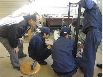 がわエコ水車 活動写真