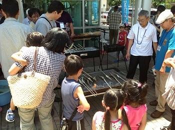 ウォーターステーション琵琶の会活動写真