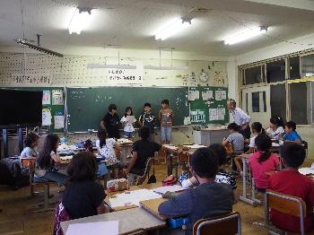 滋賀大学「学習支援士会」の活動のようす