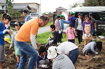 NPOぽぽハウス活動の写真