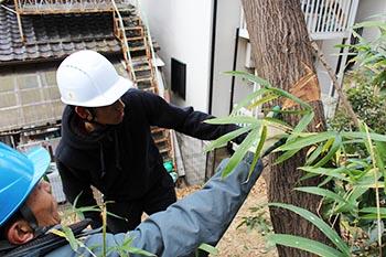 国際ボランティア学生協会IVUSA 京都 活動のようす画像