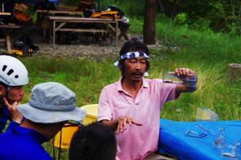 芦生自然学校 活動の画像