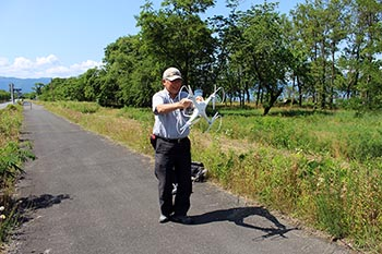 eネットびわ湖高島の活動のようす画像