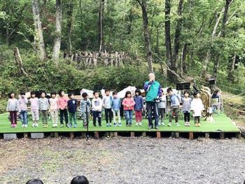 甲賀の環境・里山元気会の活動のようす画像