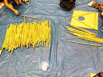 西の湖ヨシ灯り展実行委員会 活動の画像